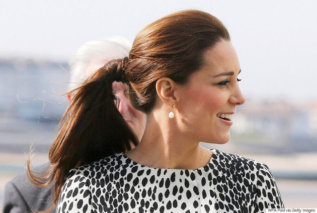 Kate Middleton Rocks The Cutest Ponytail At Art Gallery