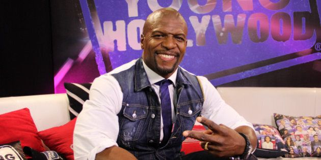 LOS ANGELES, CA - JANUARY 09: (EXCLUSIVE ACCESS) Terry Crews visits the Young Hollywood Studio on January...