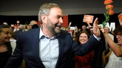 'Ready For Change': Mulcair Makes Case For NDP Government At