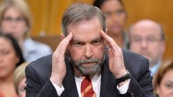 Mulcair Is Having Some Trouble Remembering His Election