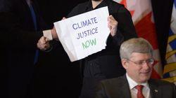 Activists Disrupt Harper Event In Security