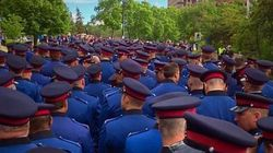 A Heartbroken Edmonton Says Goodbye To Fallen