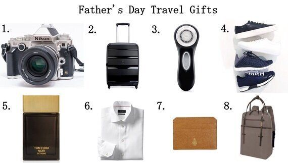 8 Father's Day Gift Ideas for the Traveling