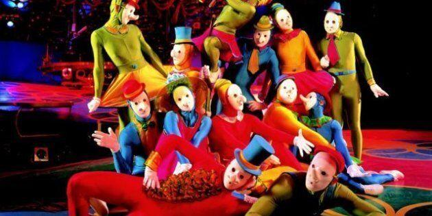 Cirque Du Soleil Virtual Reality Film Puts You Inside The