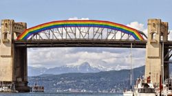 Turning Vancouver Bridge Into Pride Rainbow Is A Fabulous