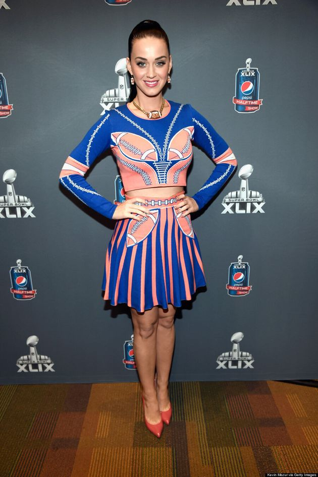 Katy Perry's 'Super Bowl' Outfit Isn't Subtle At