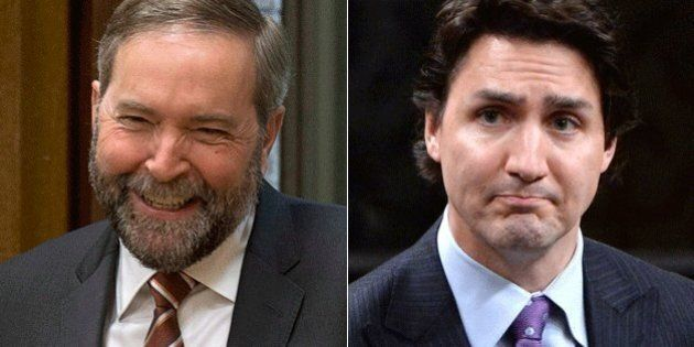 Liberal Support Drops As NDP Makes Up Ground, Poll
