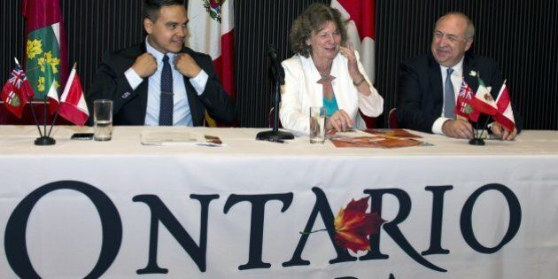 The commercial counselor of the Ontario government at the Canadian embassy in Mexico, Chantal Ramsay...