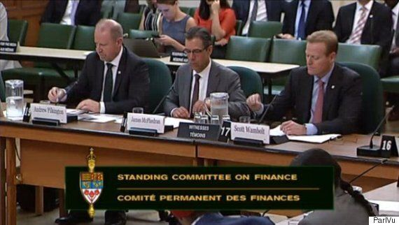 Big Canadian Bank Execs Tell MPs Their Business Practices Always Put Customer