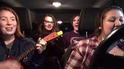 Tim Hortons Employees Get Serenaded In Drive-Thru Because
