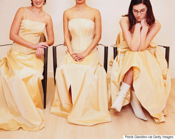 Spare Single Women The 'Always A Bridesmaid' Line This Wedding