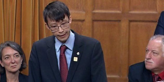 Arnold Chan, Liberal MP Fighting Cancer, Delivers Emotional Speech In House Of