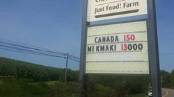 N.S. Coffee House Puts Up One Hell Of A Canada 150
