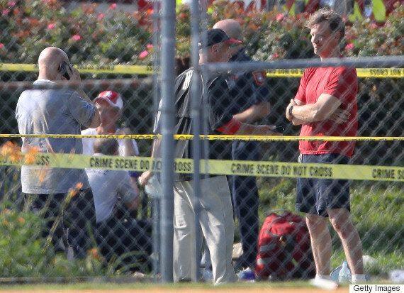 House Republican Leader Steve Scalise Shot At Congressional Baseball
