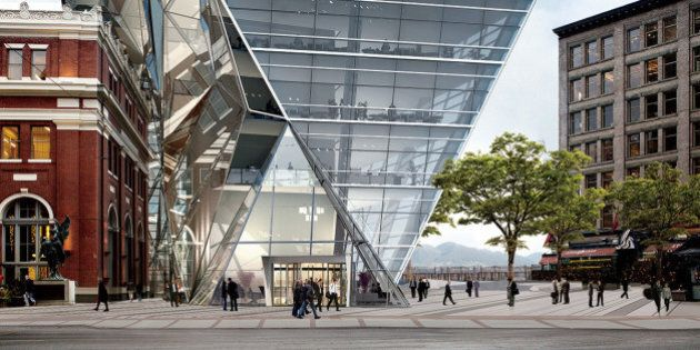 Waterfront 'Origami' Tower Rejected By Vancouver Design