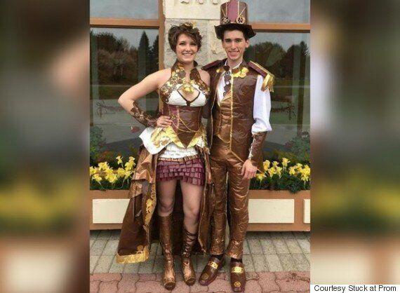 New Brunswick Couple Hoping To Win Stuck At Prom Contest With Duct Tape