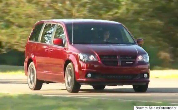 Dodge Grand Caravans Recalled Because Air Bag Can Inflate