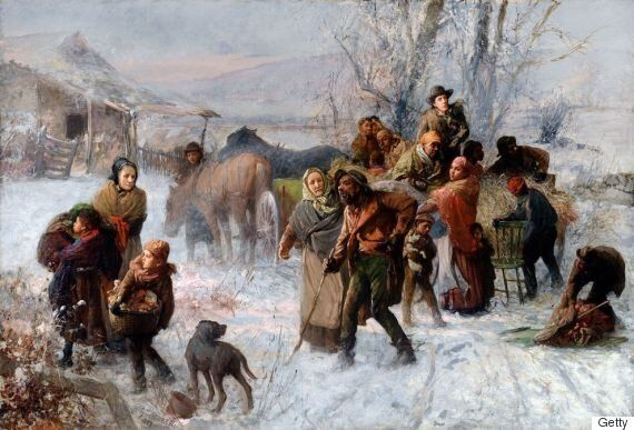 "A painting named ""The Underground Railroad"" by Charles T. Webber (Photo: Getty)"