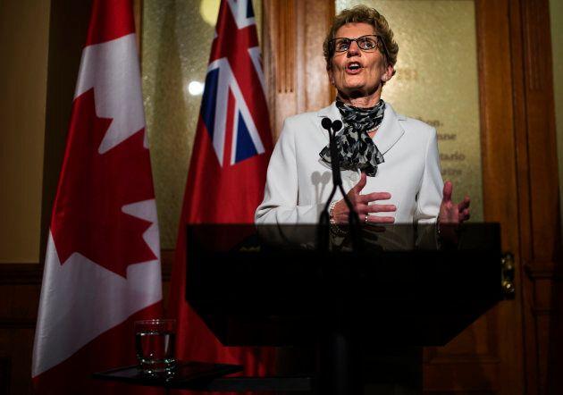 Ontario Premier Kathleen Wynne, May 2, 2014.