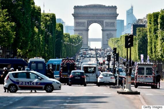 Champs-Elysees Attacker Driving Explosive-Filled Car Killed By Paris