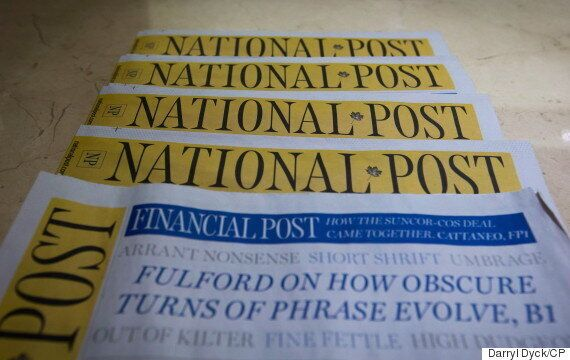 National Post To End Monday Print Edition As Of