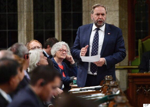 Mulcair Hammers Trudeau For Breaking Promise On Access-To-Information