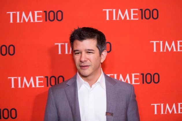Travis Kalanick, arrives at the Time 100 gala celebrating the magazine's naming of the 100 most influential...
