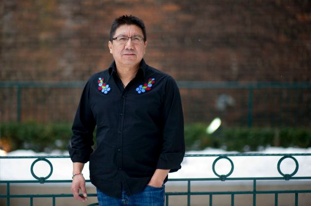 Nishnawbe Aski Nation Grand Chief Alvin Fiddler photographed in Toronto on February 14,