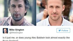 Ryan Gosling And Alec Baldwin Are The Most Unlikely Celebrity