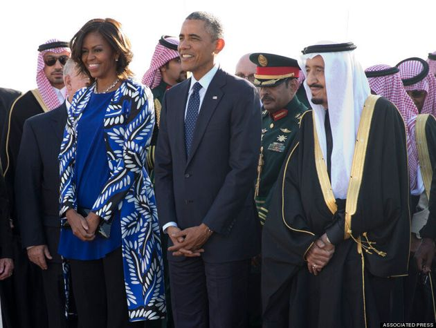Michelle Obama Forgoes Headscarf In Saudi Arabia, Sparks