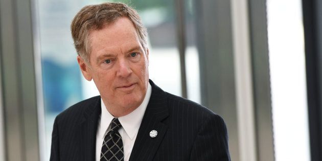 U.S. Trade Representative Robert Lighthizer said he would enter the upcoming NAFTA talks with the goal...