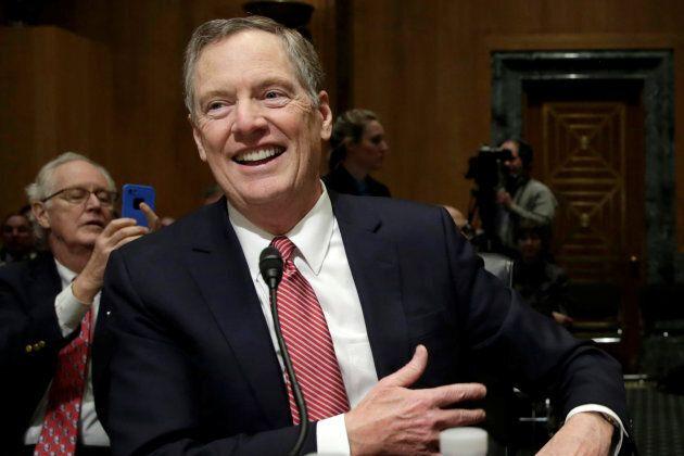 U.S. Trade Representative Robert Lighthizer said the U.S. plans to move very quickly on NAFTA talks.