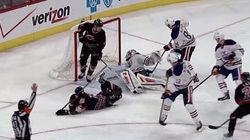 Oilers Goalie Gives Props To Opponent For 'Goal Of The Year' Against
