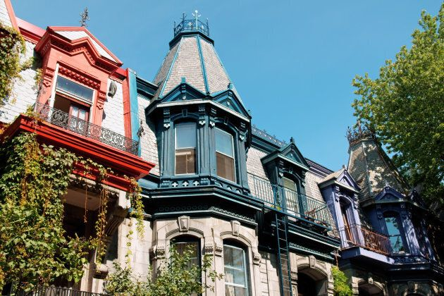 Rowhouses in