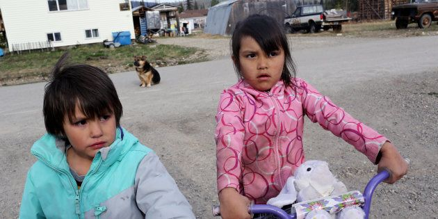 Two First Nation children who have lost their mother to substance abuse and the streets are being raised...