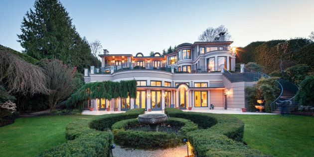 $63-Million Mansion For Sale In Vancouver Signals Confidence Is
