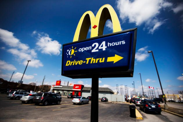 Service industries like McDonald's have had to increase wages in places like Fort McMurray, Alta. in order to attract and retain workers.