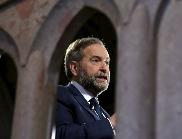 NDP Leader Tom Mulcair demanded Prime Minister Justin Trudeau provide answers about Canada's mission...