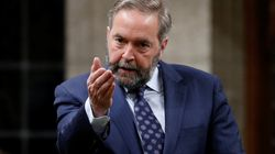 Mulcair Raises Red Flags After Canadian Sniper Breaks Record In