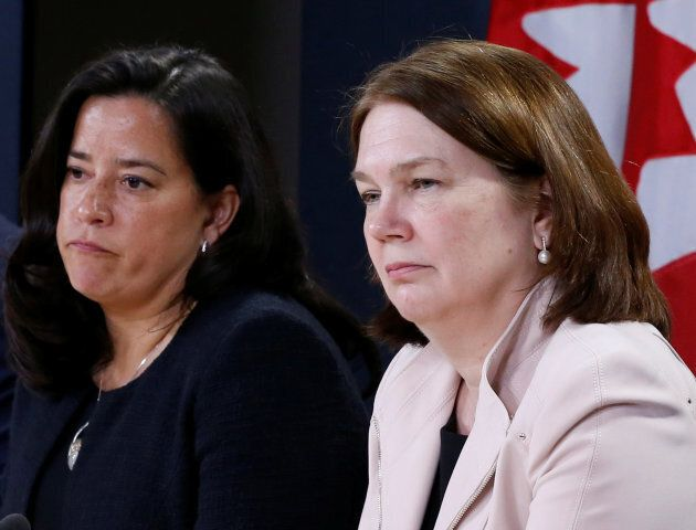 Justice Minister Jody Wilson-Raybould and Health Minister Jane Philpott say the government's plan toseek...