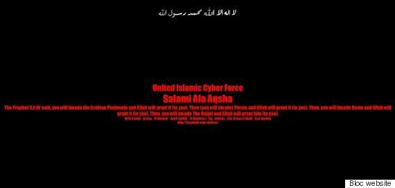 Bloc Québécois Website Hacked By 'United Islamic Cyber