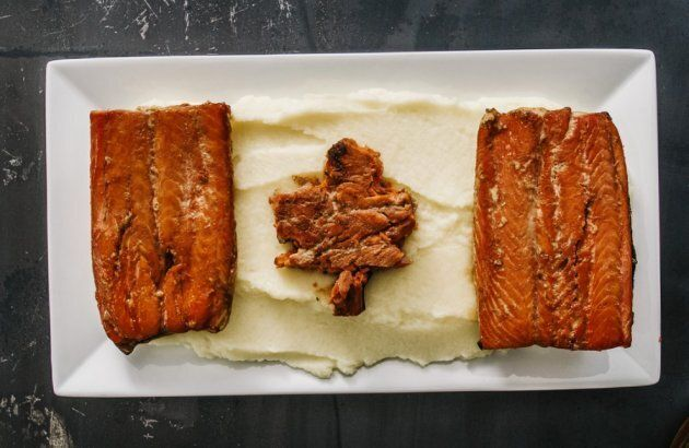 Canada Day Maple Rye Cedar Salmon