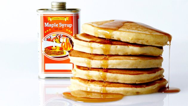 MAPLE AND BROWN SUGAR PANCAKES RECIPE
