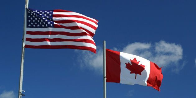 A new poll has found American and Canadian voters are almost equally supportive of voting for a president...