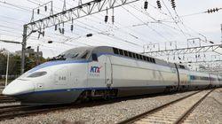 시속 170km KTX 열차에서 뛰어내린 30대가 다행히 목숨을