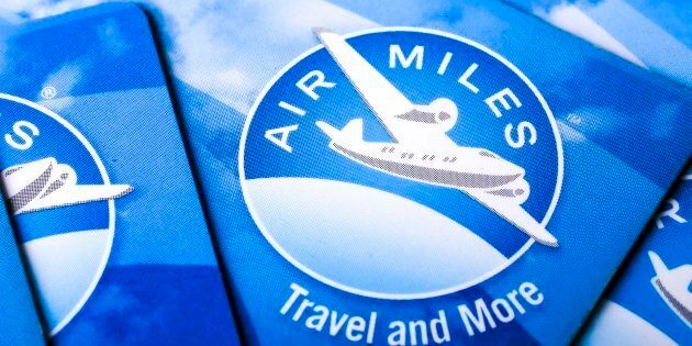 Photographs of Air Miles Cards. (Photo: Andrew Francis Wallace/Toronto Star via Getty
