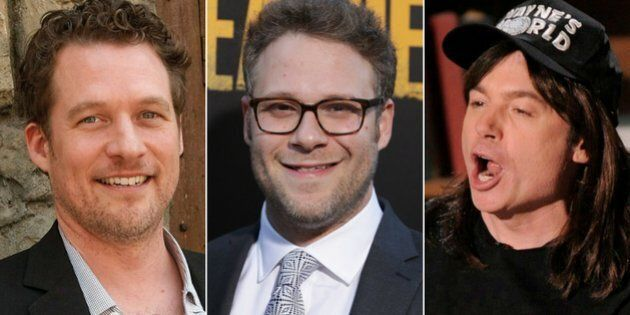 Canadian actors James Tupper, Seth Rogen, and Mike Myers revealed