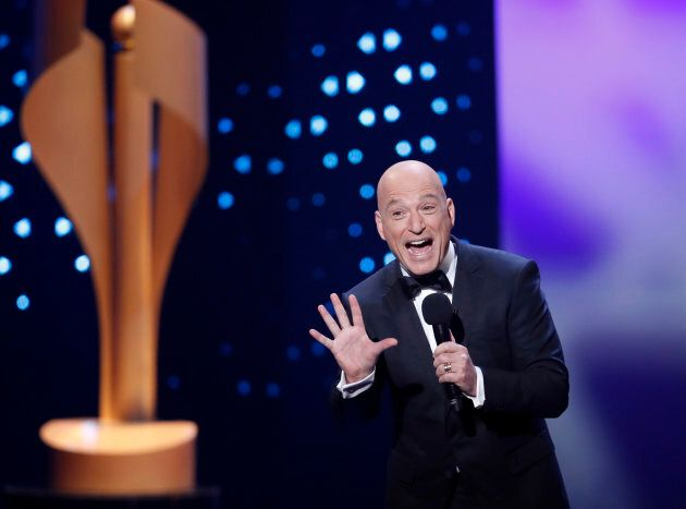Comedian Howie Mandel hosts the Canadian Screen Awards in Toronto on March 12, 2017.