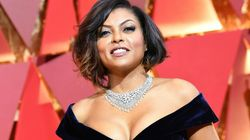 Taraji P. Henson Is Rocking Her Natural Curls For The Most Amazing
