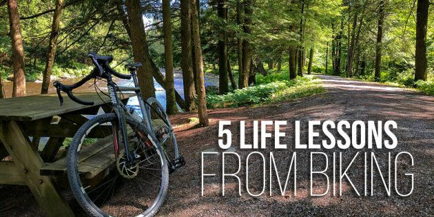 The parallels between life and biking. 5 life lessons I learned on my cycling journeys that help me in...